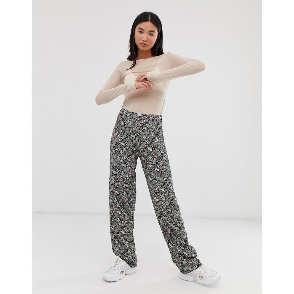 ペペジーンズ Pepe Jeans レディース ボトムス・パンツ【Amalia floral print flared trousers】floral