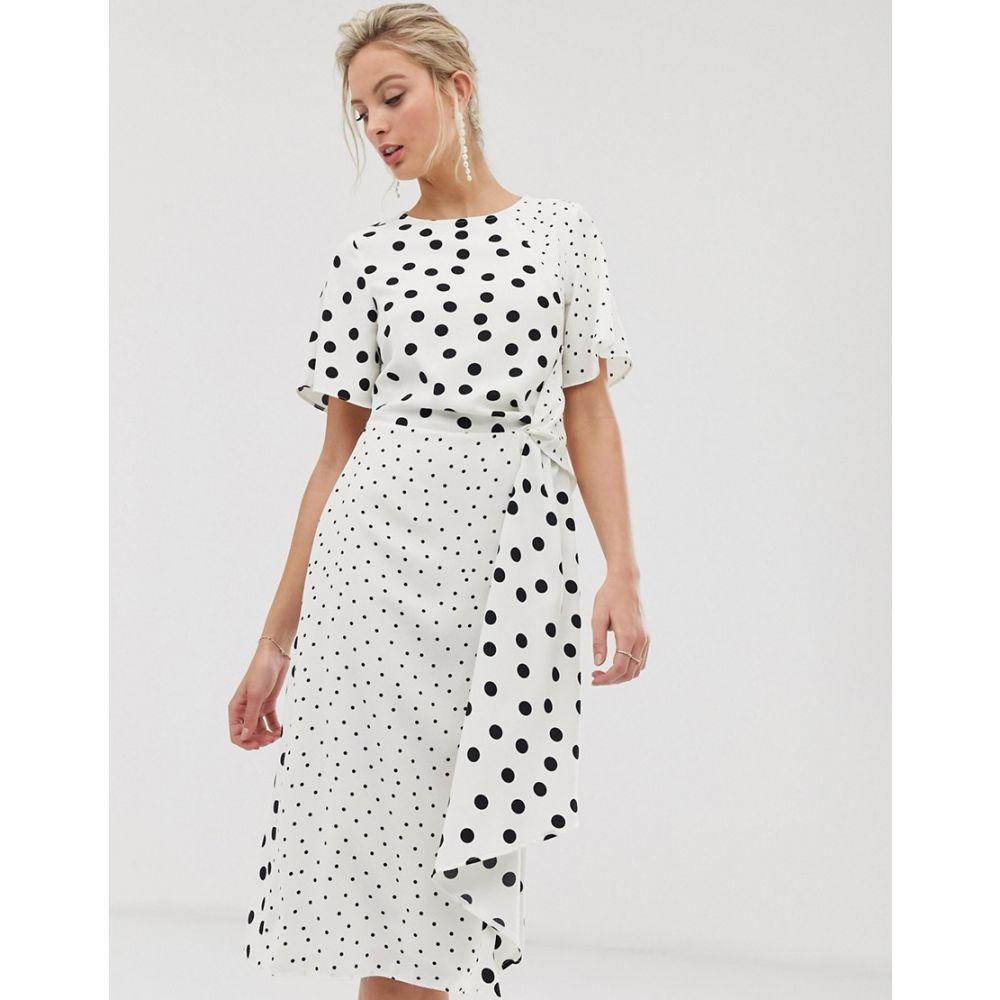 オアシス Oasis レディース dot】Multi ワンピース・ドレス Oasis ワンピース【midi dress dress in mixed polka dot】Multi, クラウンギアーズ:32242188 --- avtozvuka.ru