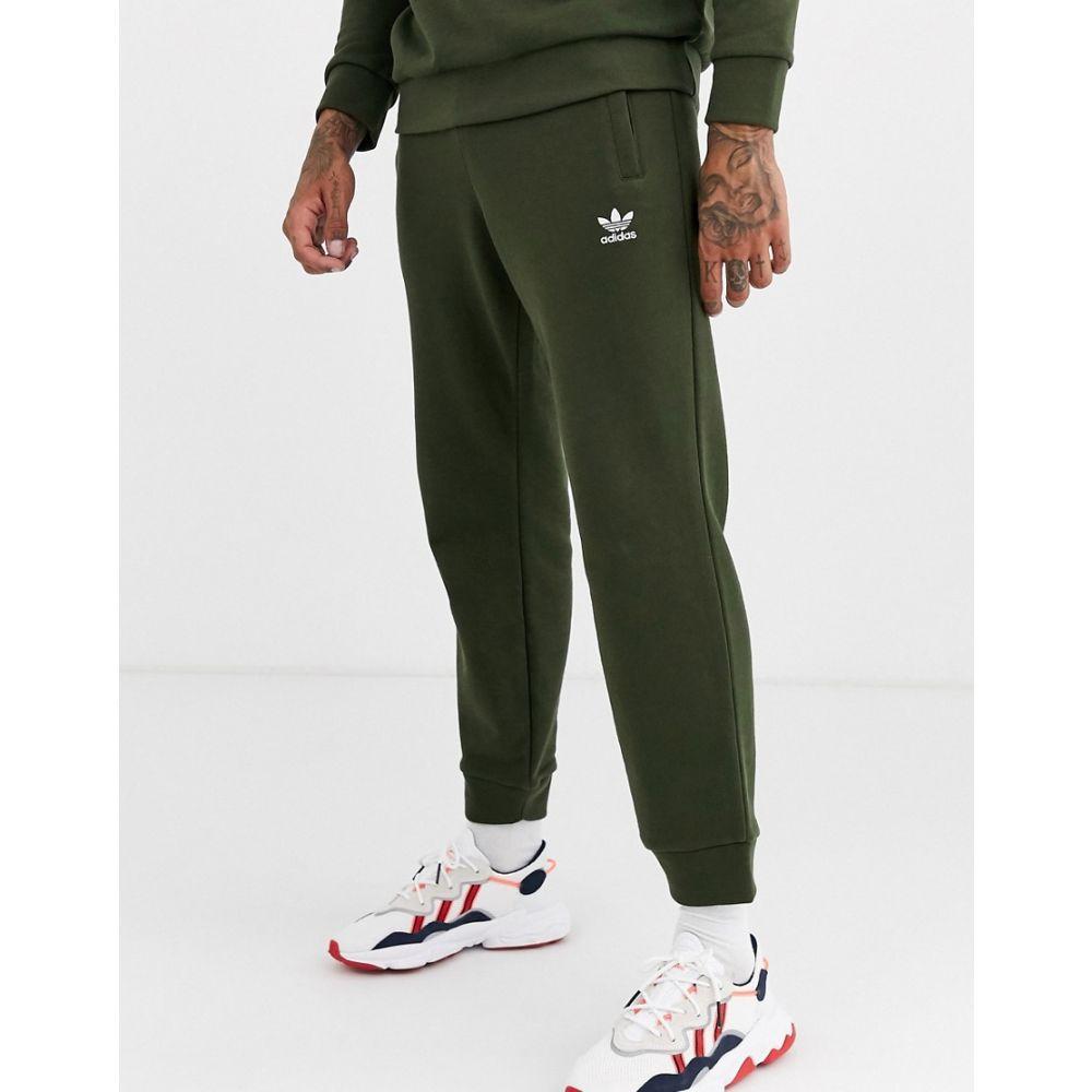 アディダス adidas Originals メンズ ボトムス・パンツ ジョガーパンツ【Joggers with logo embroidery in khaki】Green