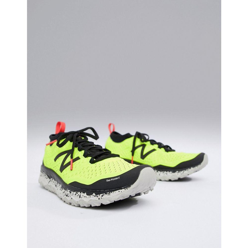ニューバランス New Balance メンズ ランニング・ウォーキング シューズ・靴【Running Hierro Trail trainers in yellow】Yellow