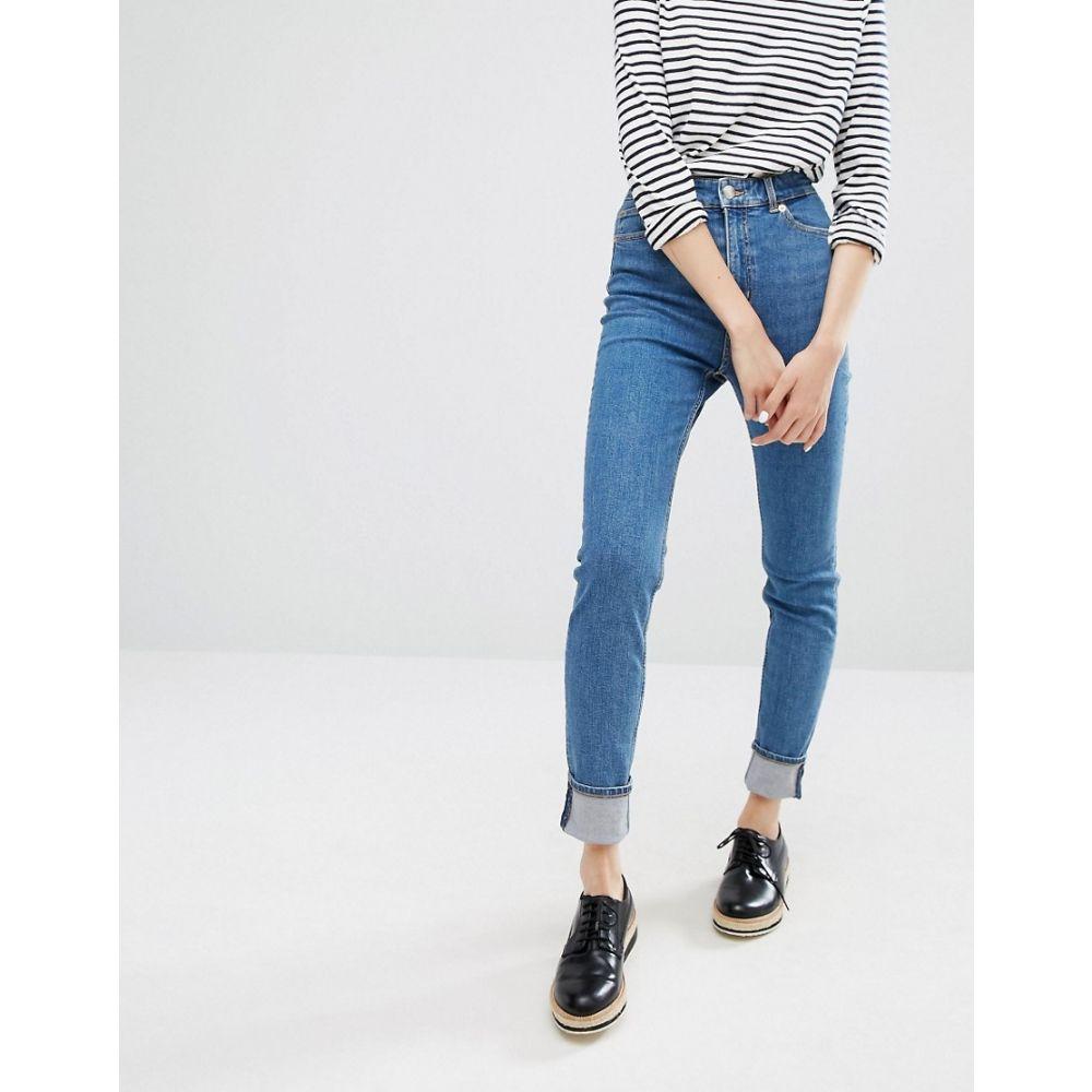 モンキー Monki レディース ジーンズ・デニム ボトムス・パンツ【Oki Premium Skinny High Waisted Jeans】Stone wash
