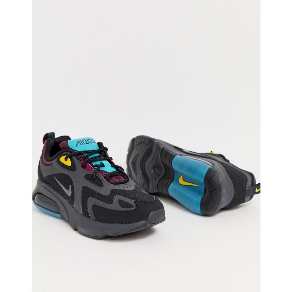 ナイキ Nike メンズ スニーカー シューズ・靴【Air Max 200 trainers in black】Black