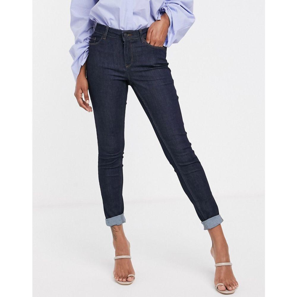ヴェロモーダ Vero Moda レディース ジーンズ・デニム ボトムス・パンツ【skinny shape up jeans in dark blue】Dark blue denim