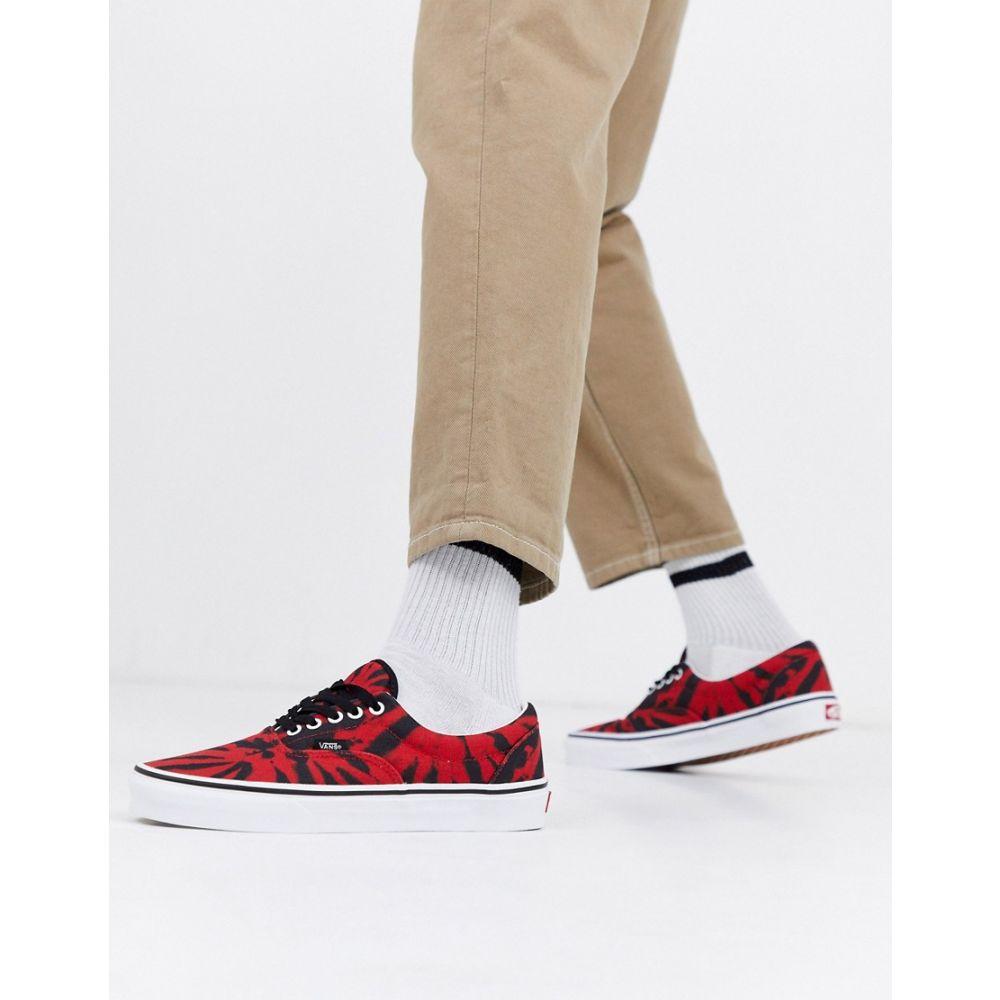 ヴァンズ Vans メンズ スニーカー シューズ・靴【Era tie dye trainers in tango red】Multi