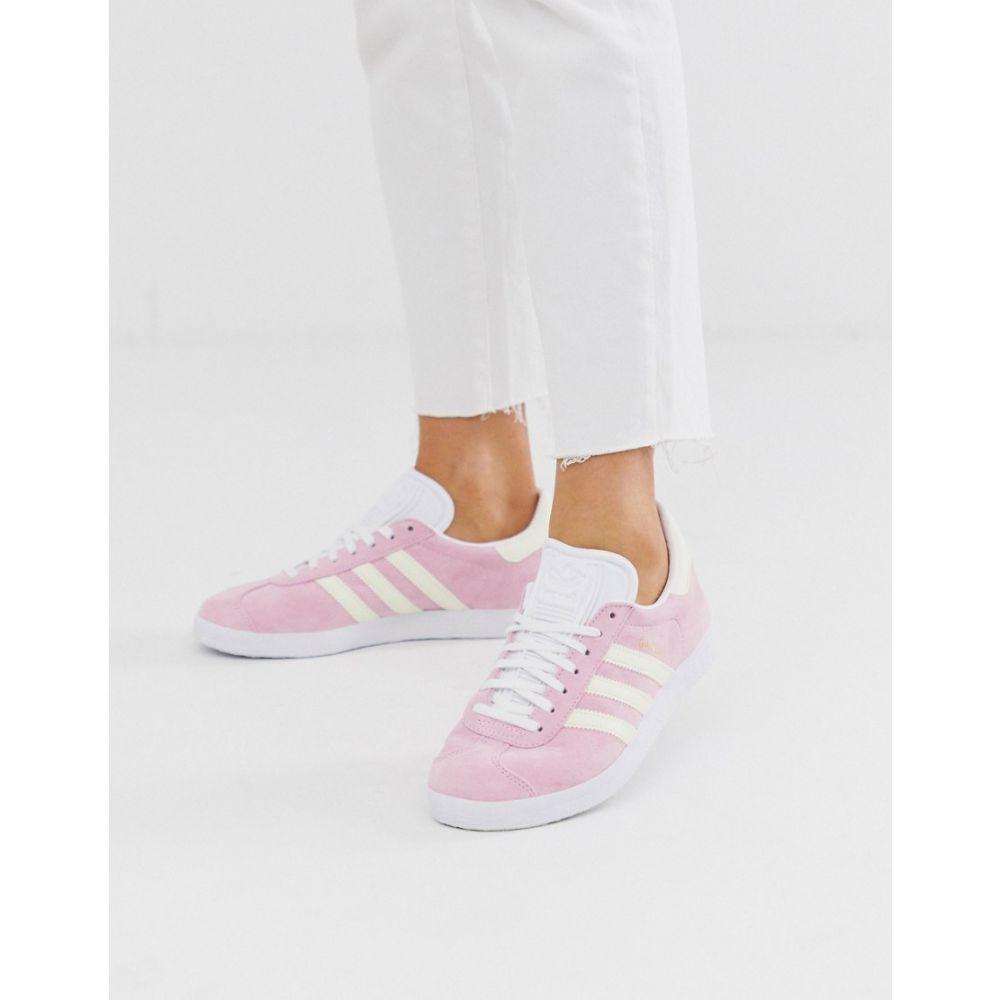 アディダス adidas Originals レディース スニーカー シューズ・靴【adidas originals Gazelle trainers】True pink