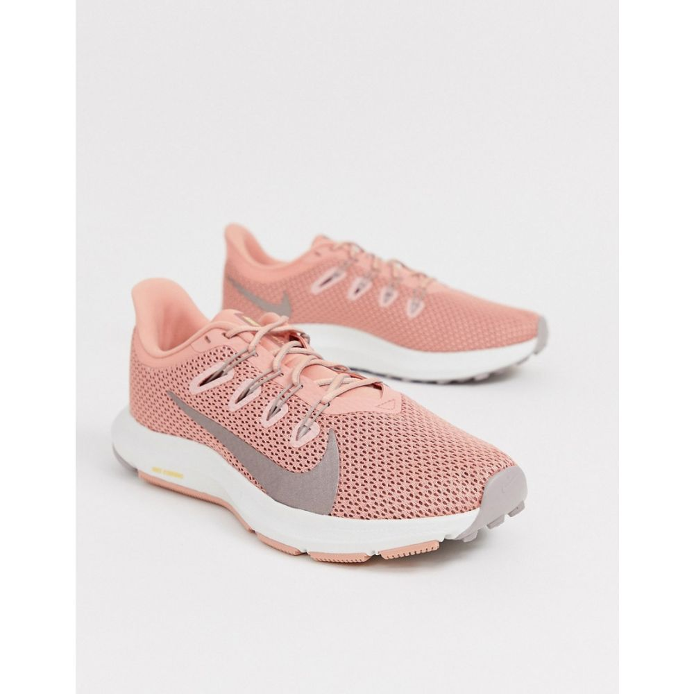 ナイキ Nike Running レディース スニーカー シューズ・靴【quest trainers in pink】Pink quartz