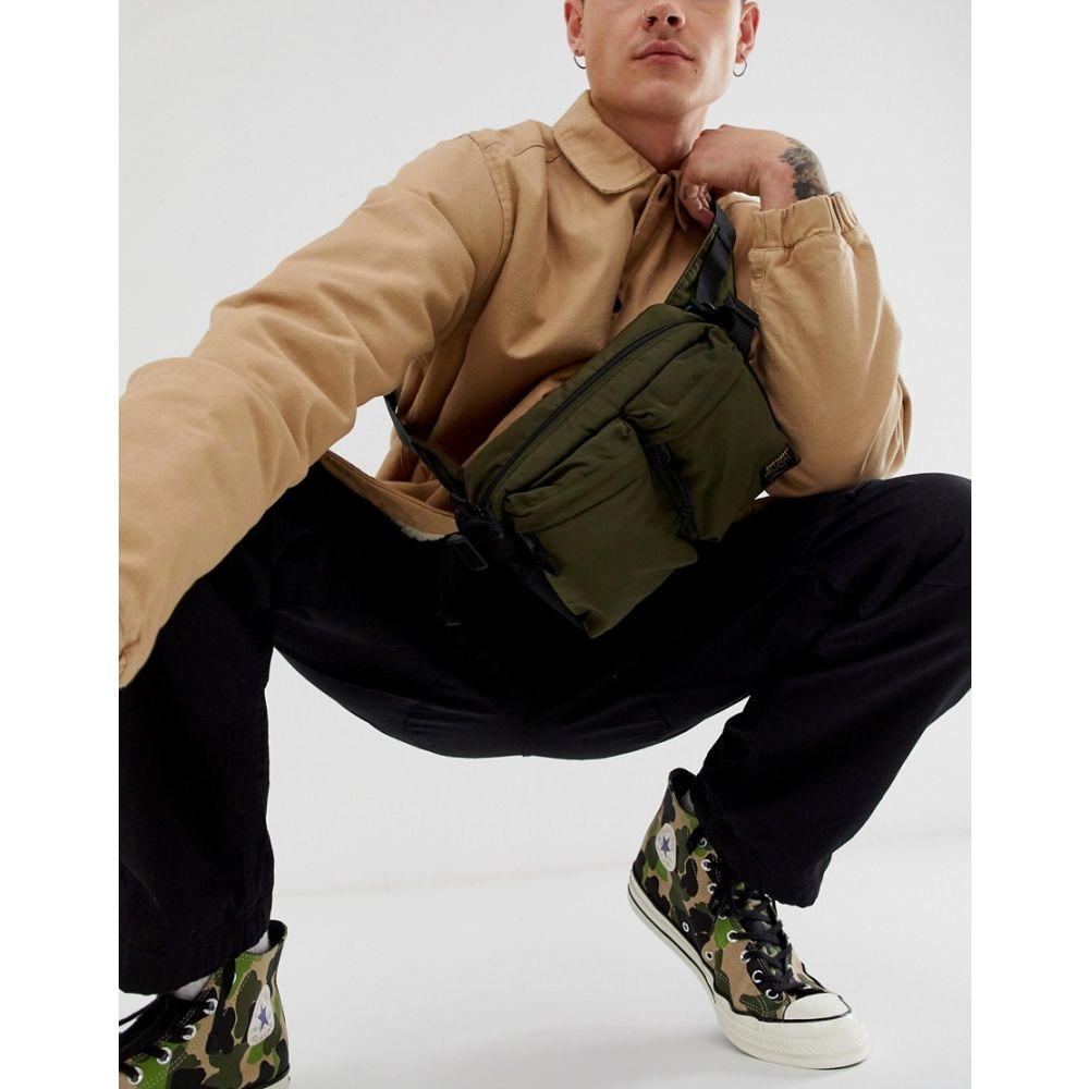 カーハート Carhartt WIP メンズ ボディバッグ・ウエストポーチ バッグ【Military hip bag in cypress green】Cypress/black