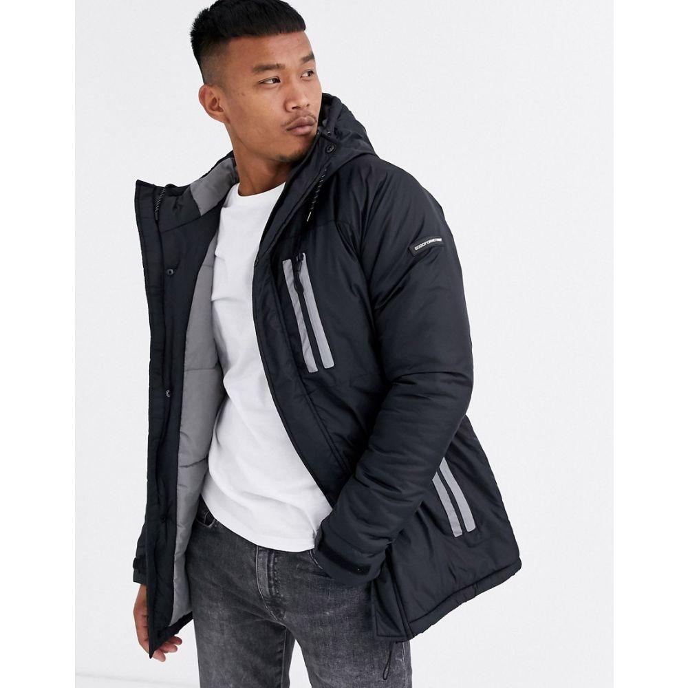 グッドフォーナッシング Good For Nothing メンズ レインコート アウター【hooded rain coat in black】Black