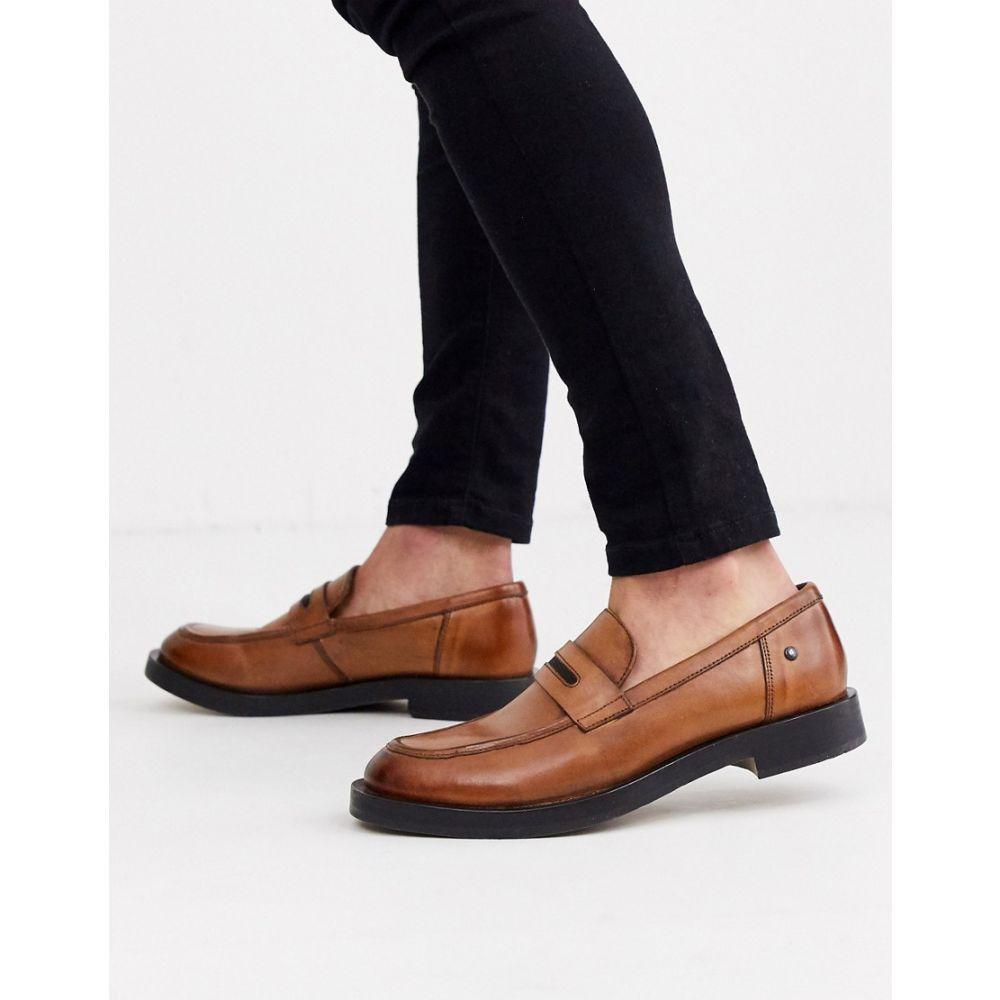 ベース ロンドン Base London メンズ ローファー シューズ・靴【neruda loafer in tan】Tan