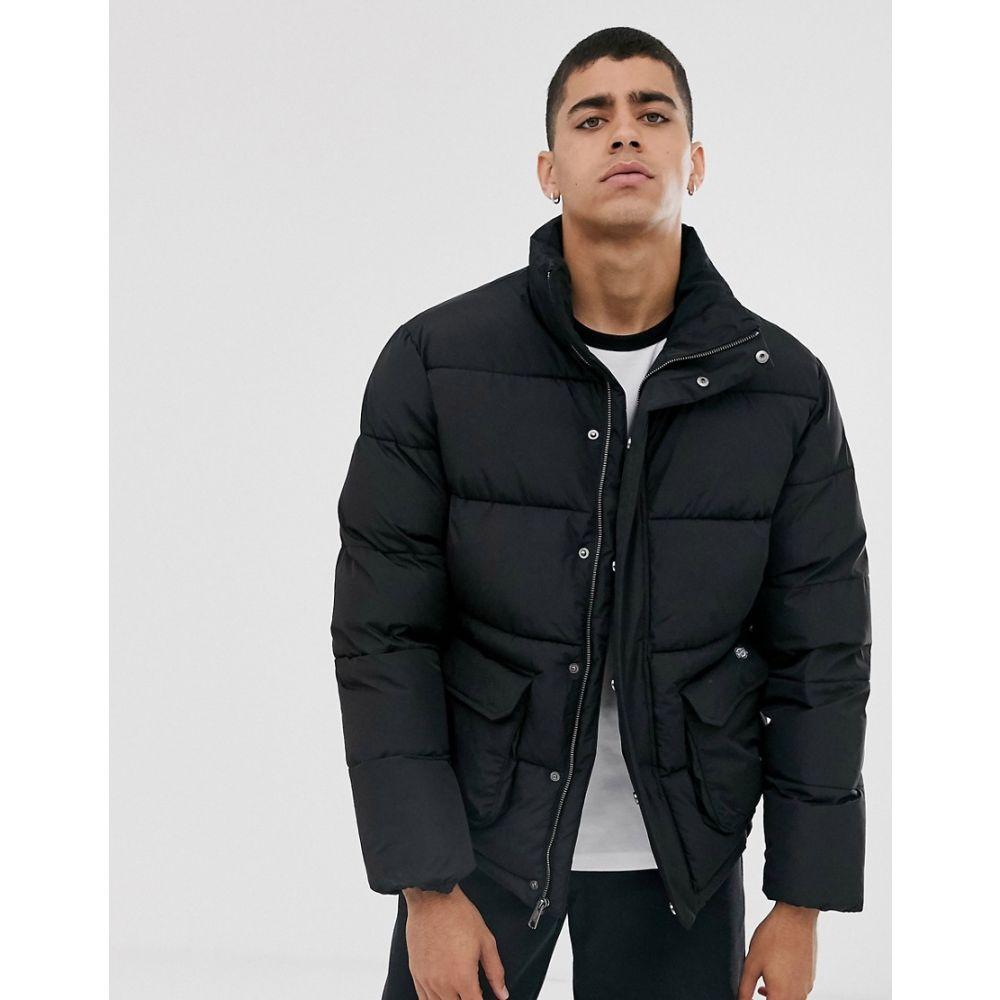 ディッキーズ Dickies メンズ ダウン・中綿ジャケット アウター【olaton puffer jacket in black】Black