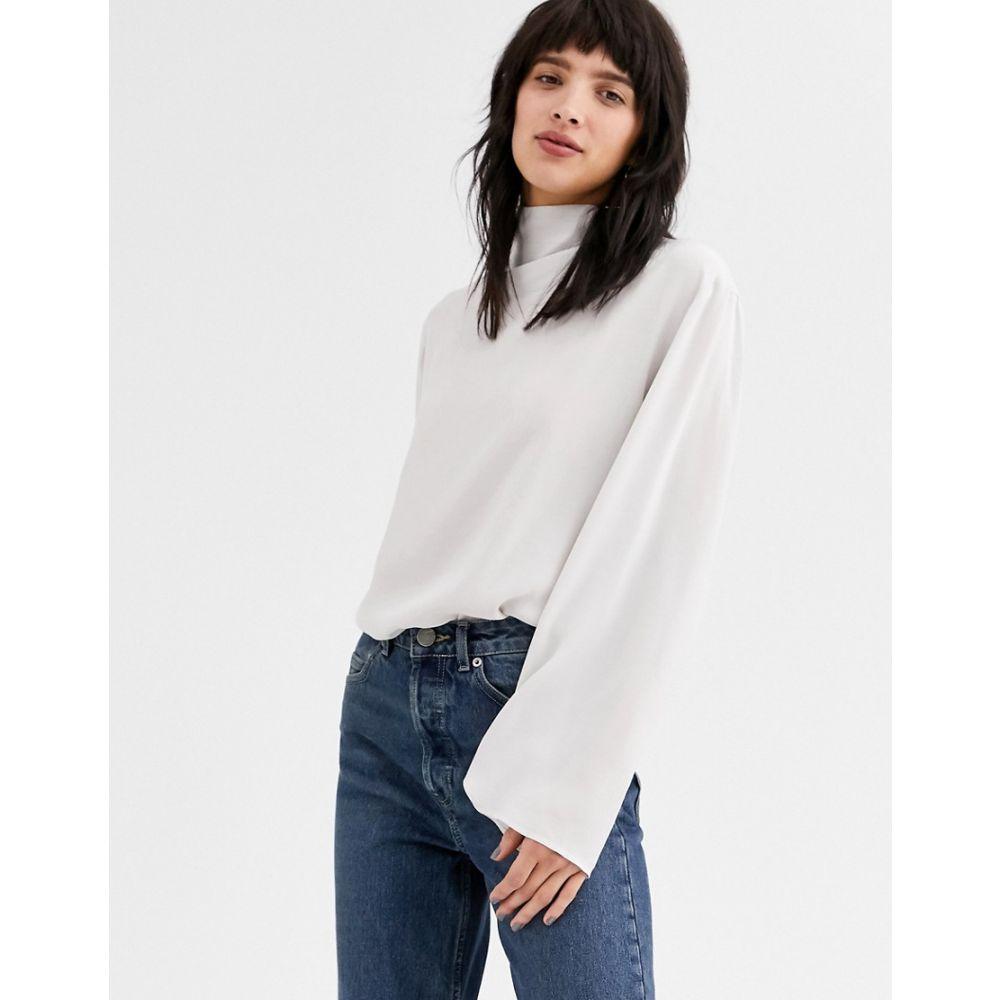 ウィークデイ Weekday レディース ブラウス・シャツ トップス【evelina blouse in off white】Off white