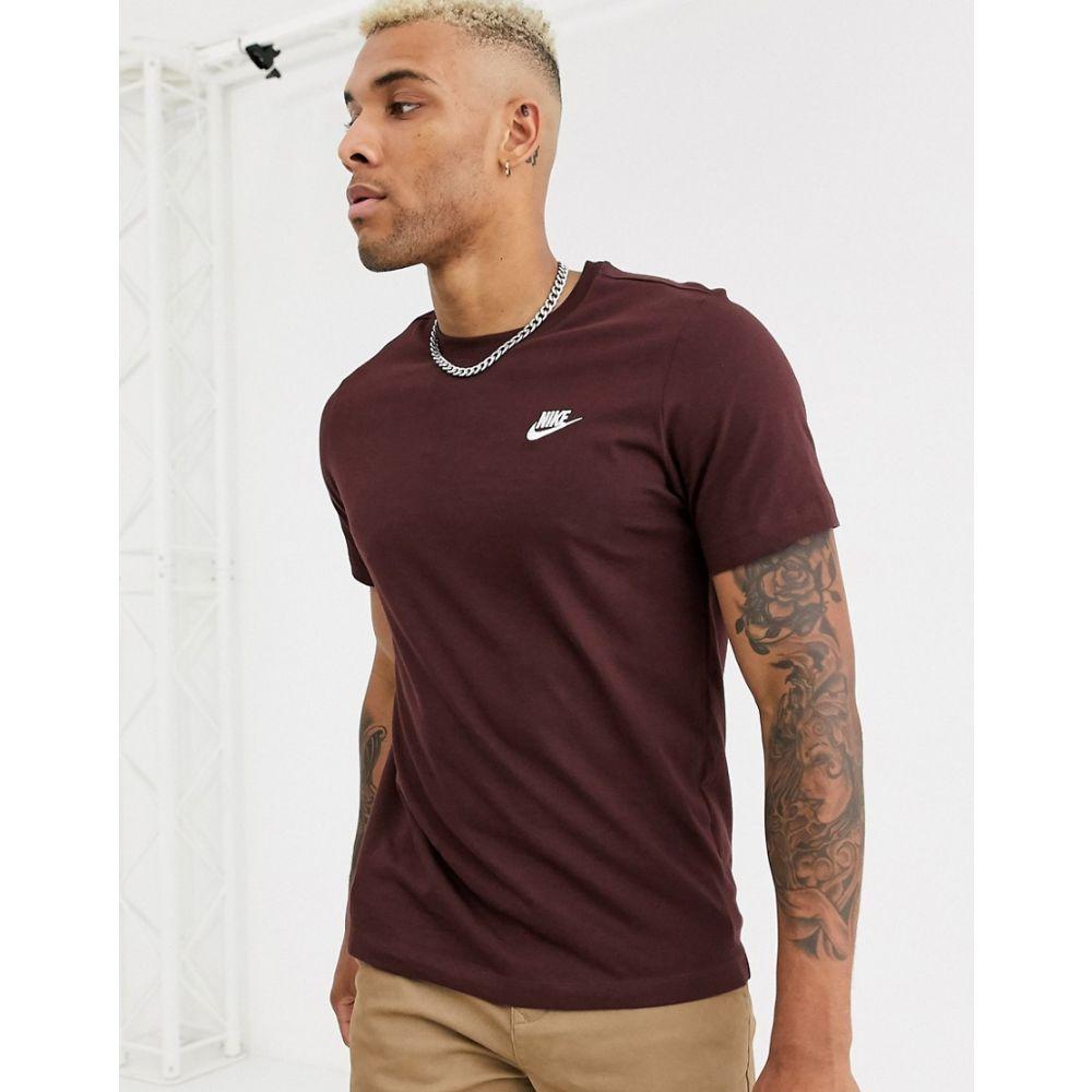 ナイキ Nike メンズ Tシャツ トップス【club t-shirt in brown】Brown