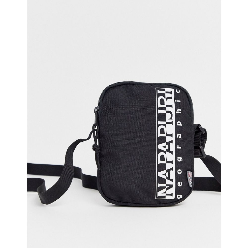 ナパピリ Napapijri メンズ ショルダーバッグ バッグ【happy small cross body bag in black】Black
