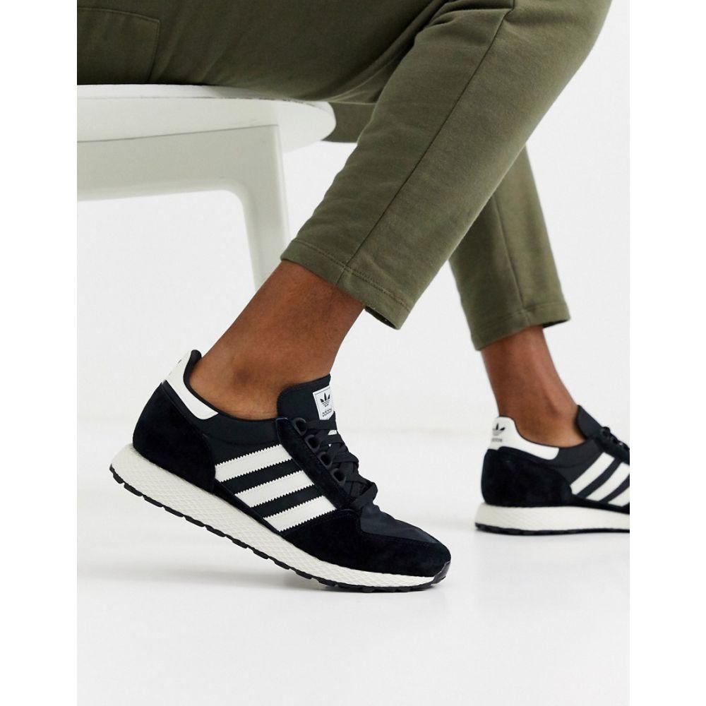 アディダス adidas Originals メンズ スニーカー シューズ・靴【forest grove trainers】Bk - black