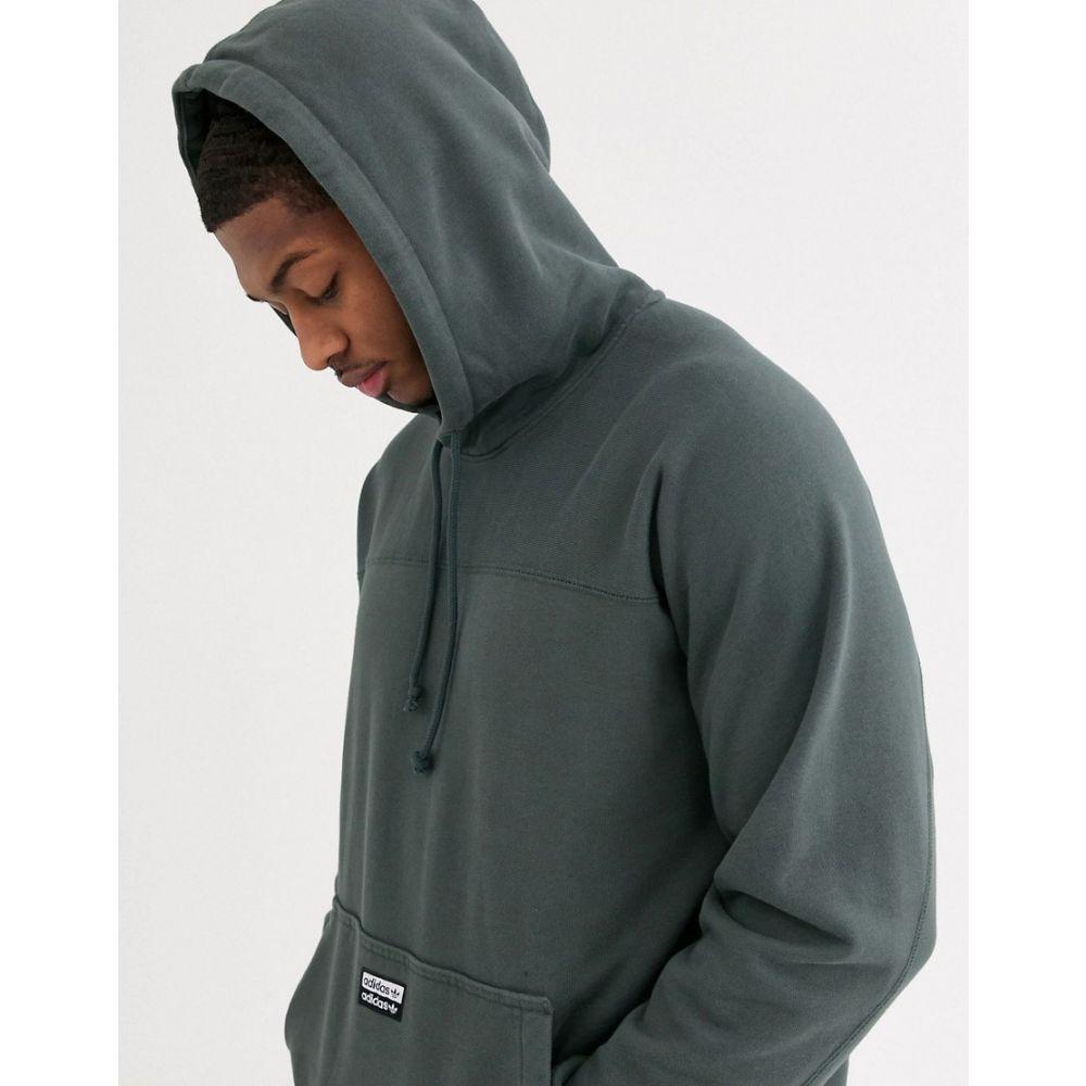 アディダス adidas Originals メンズ パーカー トップス【ryv hoodie in green】Green