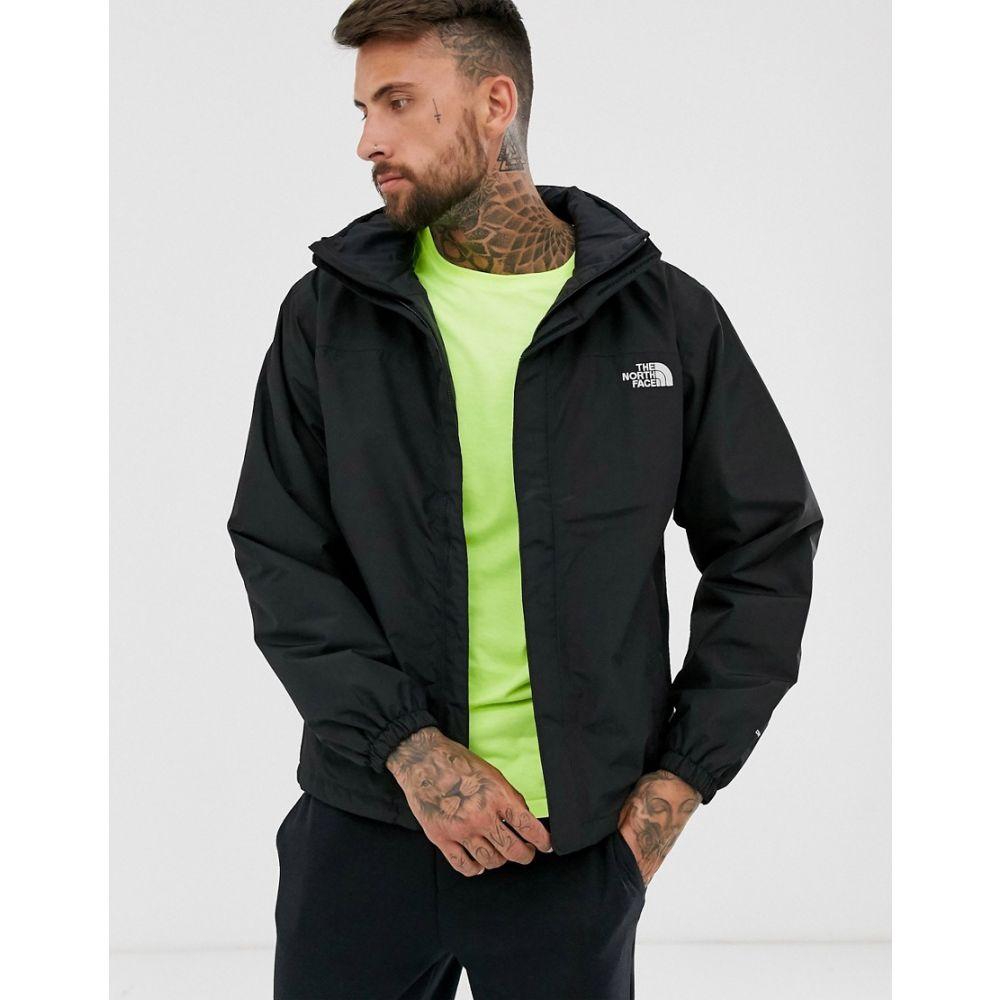 ザ ノースフェイス The North Face メンズ ジャケット アウター【resolve insulated jacket with hood in black】Black