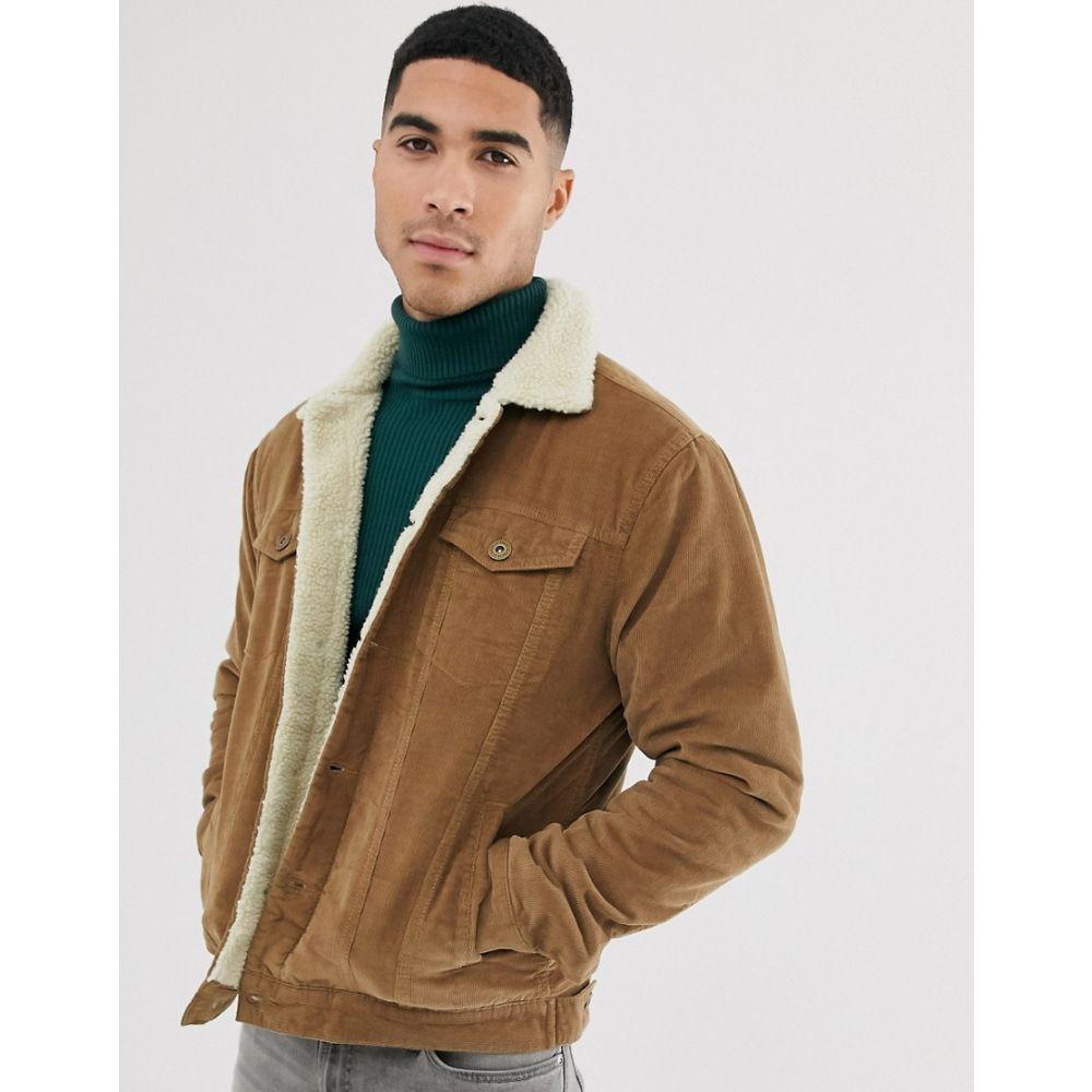 ル ブレーブ Le Breve メンズ ジャケット アウター【borg cord jacket】Brown