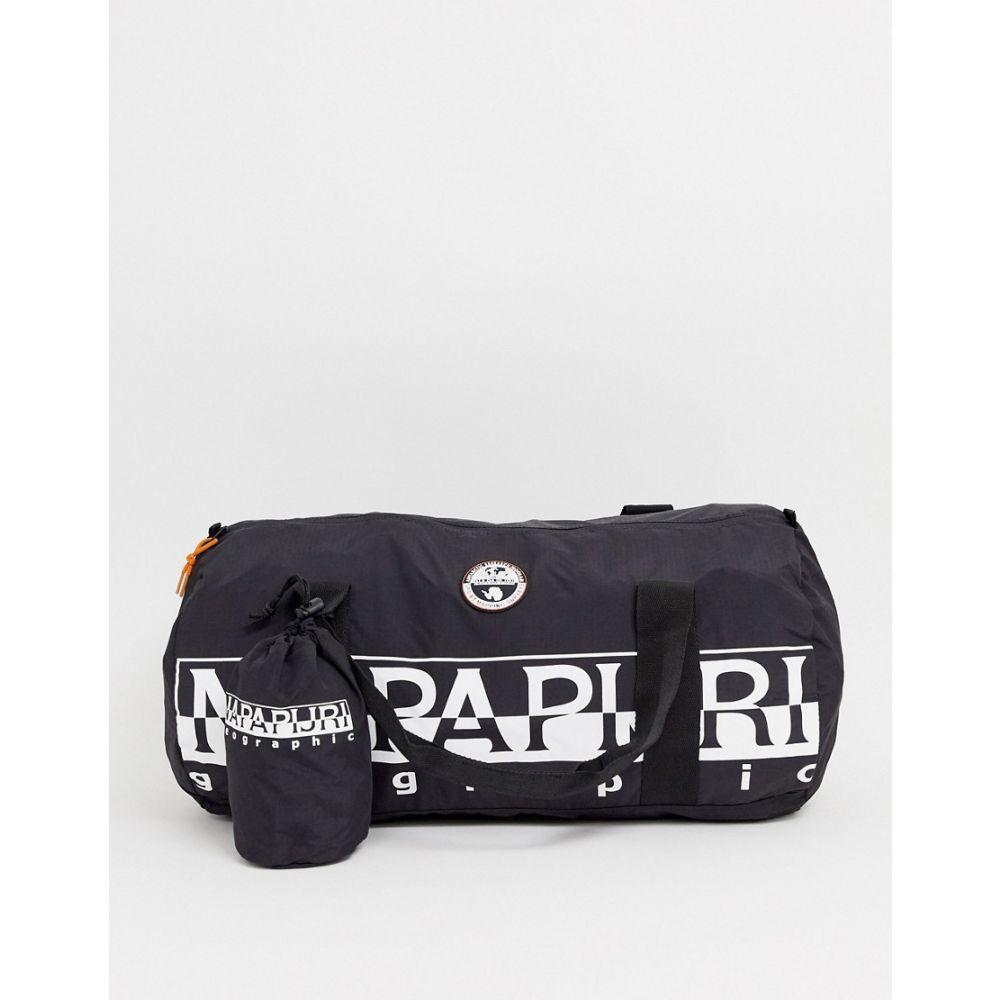 ナパピリ Napapijri メンズ ボストンバッグ・ダッフルバッグ バッグ【bering duffle bag 48l in black】Black