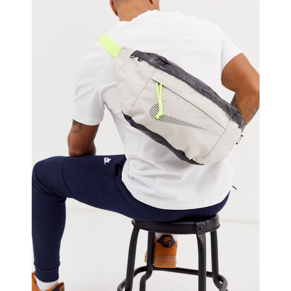 ナイキ Nike メンズ ボディバッグ・ウエストポーチ バッグ【tech winterized bum bag in beige with neon zip】Beige
