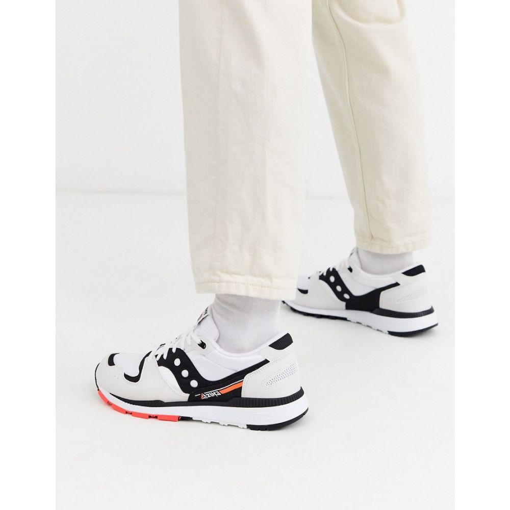 サッカニー Saucony メンズ スニーカー シューズ・靴【azura og trainers in white】White