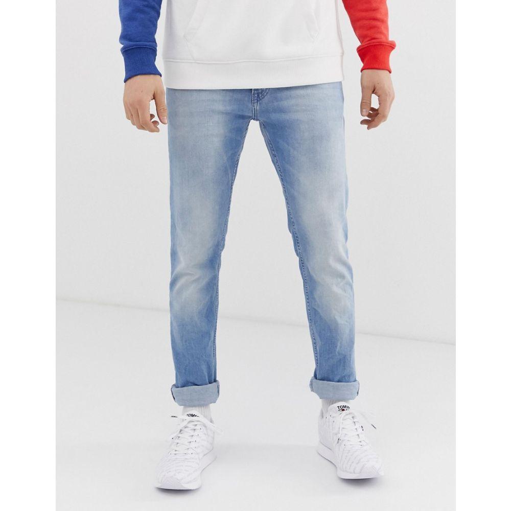 トミー ジーンズ Tommy Jeans メンズ ジーンズ・デニム ボトムス・パンツ【slim fit scanton jeans in light wash】Light blue