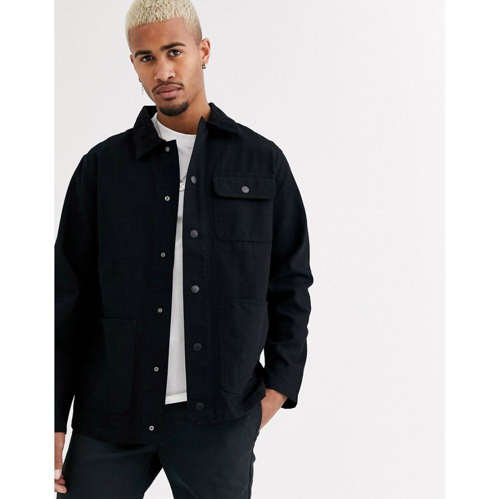 ヴァンズ Vans メンズ ジャケット アウター【jacket in black】Black