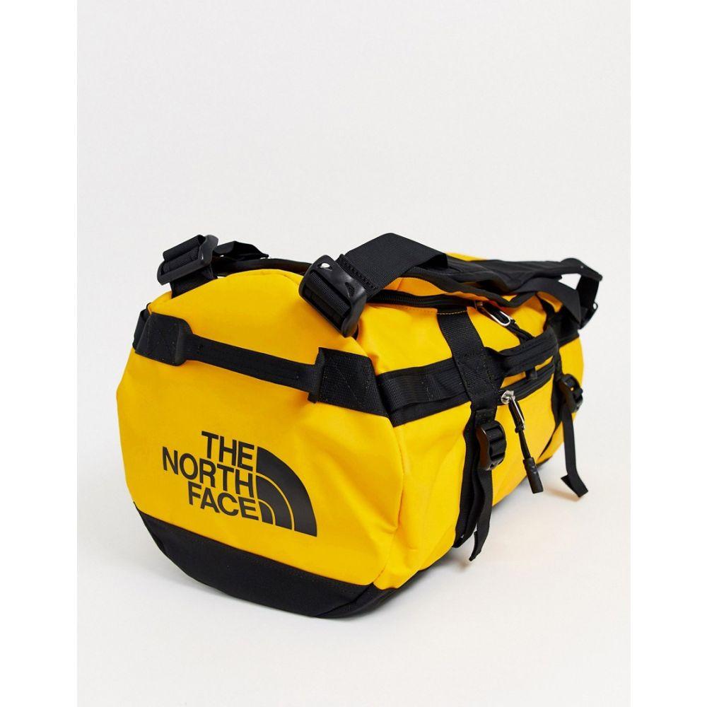 ザ ノースフェイス The North Face メンズ ボストンバッグ・ダッフルバッグ バッグ【base camp extra small duffel in yellow】Black