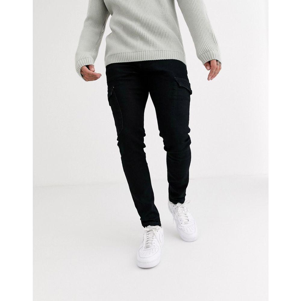 リングスパン Ringspun メンズ ジーンズ・デニム ボトムス・パンツ【utility pocket jeans】Black
