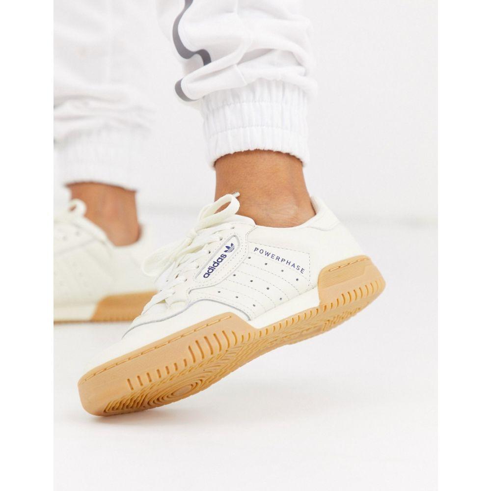 アディダス adidas Originals レディース スニーカー シューズ・靴【powerphase trainer in off white】Raw white