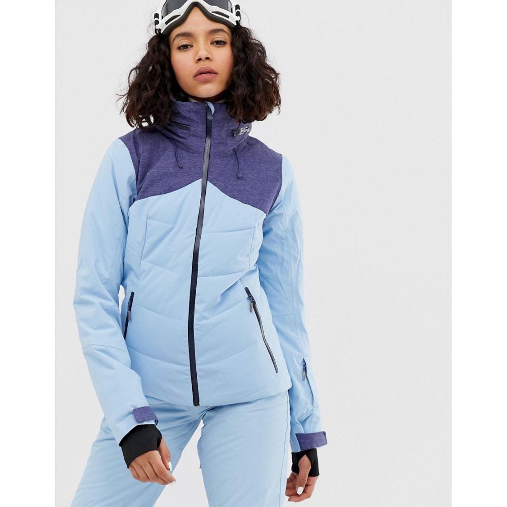 ロキシー Roxy レディース スキー・スノーボード ジャケット アウター【flicker ski jacket in blue】Blue