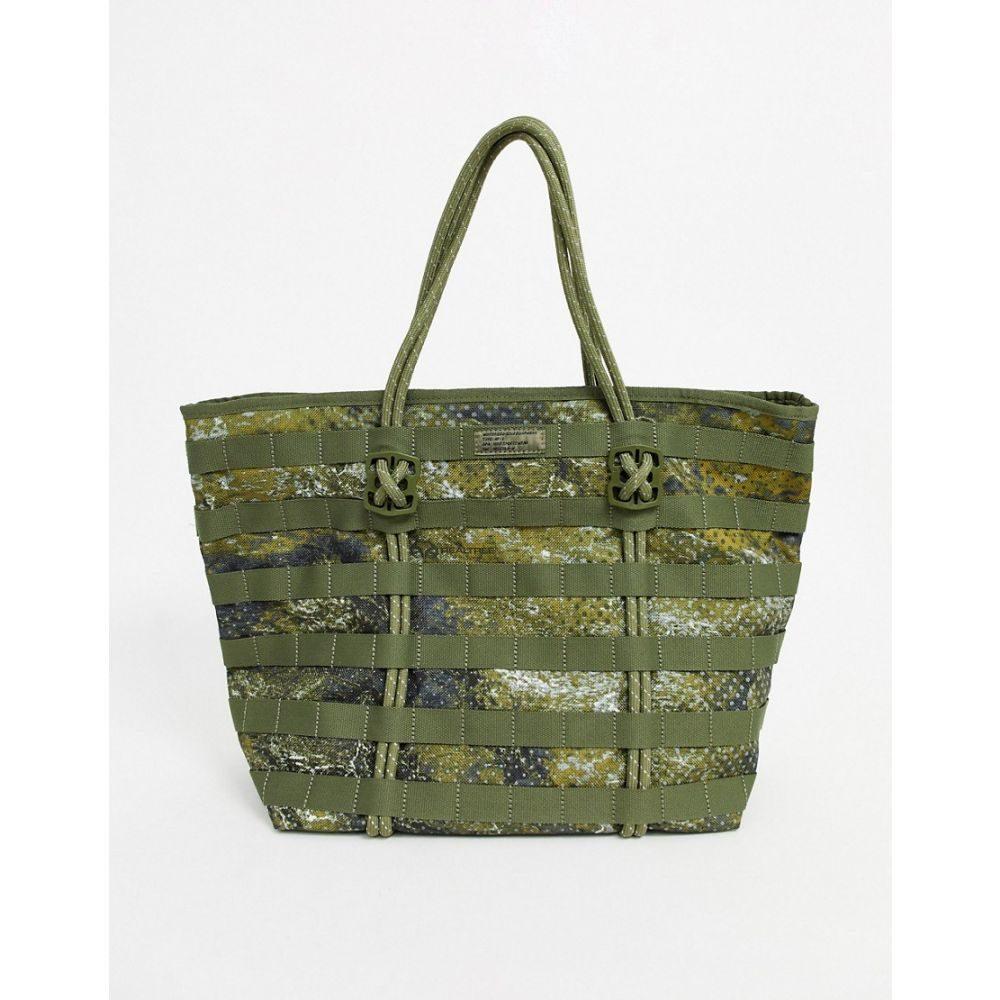 ナイキ レディース バッグ トートバッグ Medium olive 【サイズ交換無料】 ナイキ Nike レディース トートバッグ エアフォース バッグ【air force tote bag in camo】Medium olive