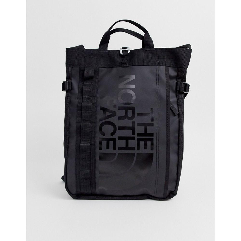 ザ ノースフェイス レディース バッグ トートバッグ Black 【サイズ交換無料】 ザ ノースフェイス The North Face レディース トートバッグ バッグ【base camp tote bag in black】Black