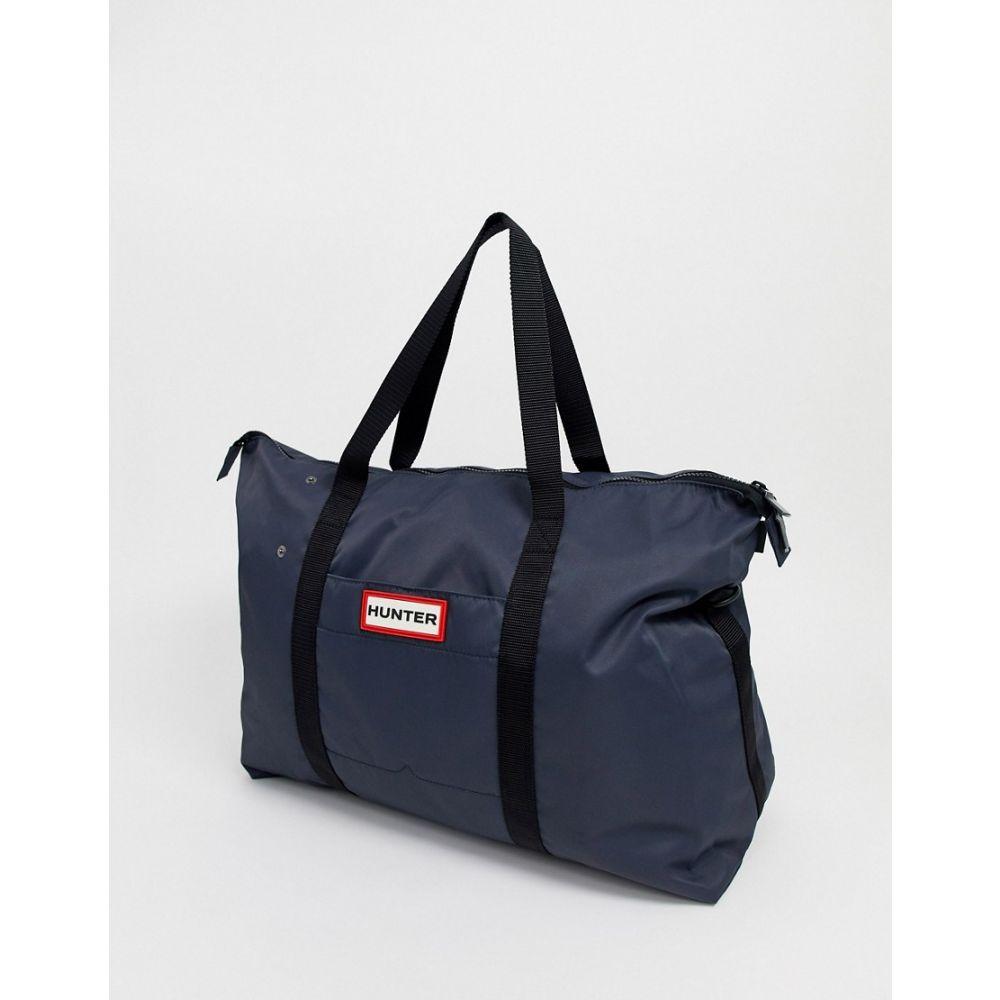 ハンター Hunter レディース ボストンバッグ・ダッフルバッグ バッグ【original nylon weekender bag】Navy