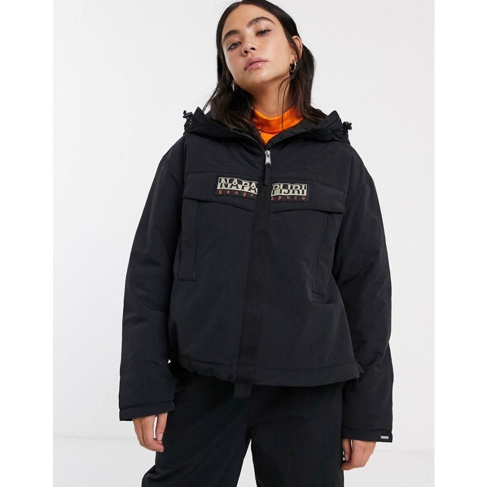ナパピリ Napapijri レディース ジャケット アウター【skidoo creator overhead jacket in black】Black
