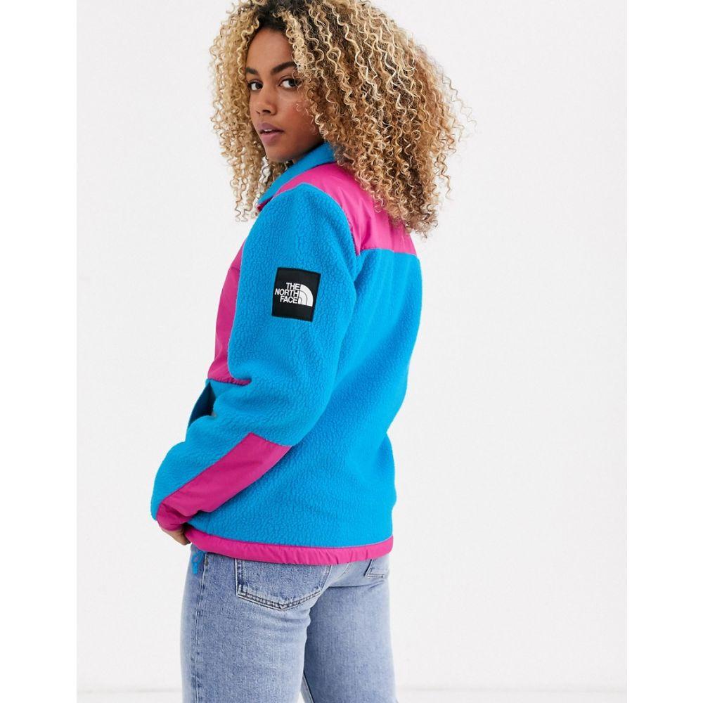 ザ ノースフェイス The North Face レディース フリース トップス【denali fleece jacket in blue/pink】Pink