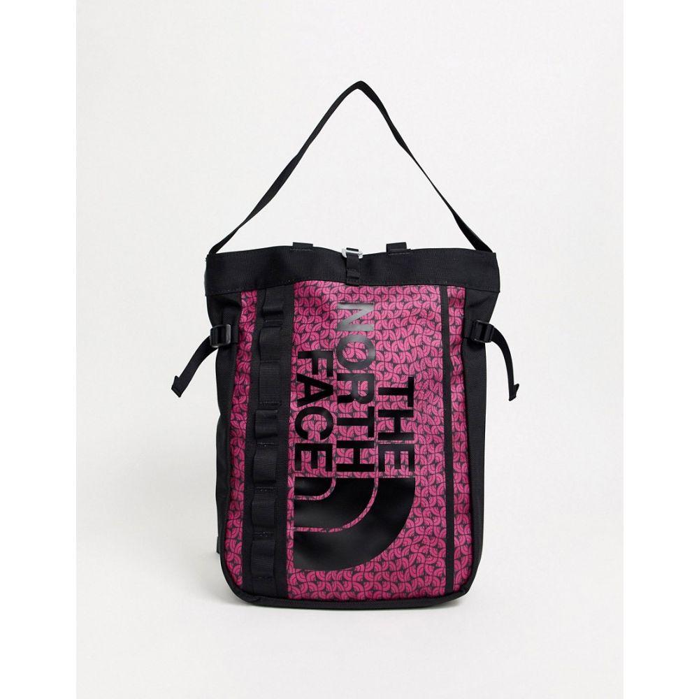 ザ ノースフェイス レディース バッグ トートバッグ Pink 【サイズ交換無料】 ザ ノースフェイス The North Face レディース トートバッグ バッグ【base camp tote bag in pink】Pink