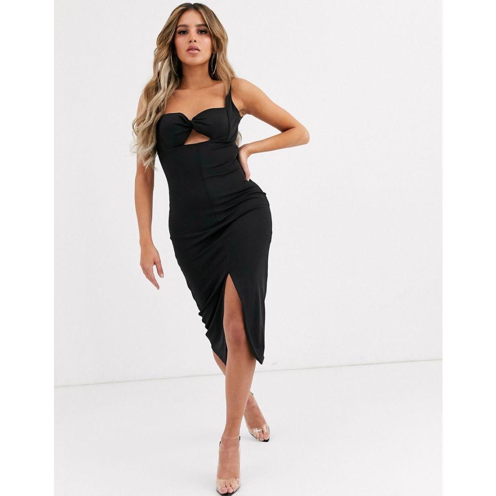 シグニフィカント アザー Significant Other レディース ワンピース ビスチェ ミドル丈 ワンピース・ドレス【paloma bustier midi dress】Black