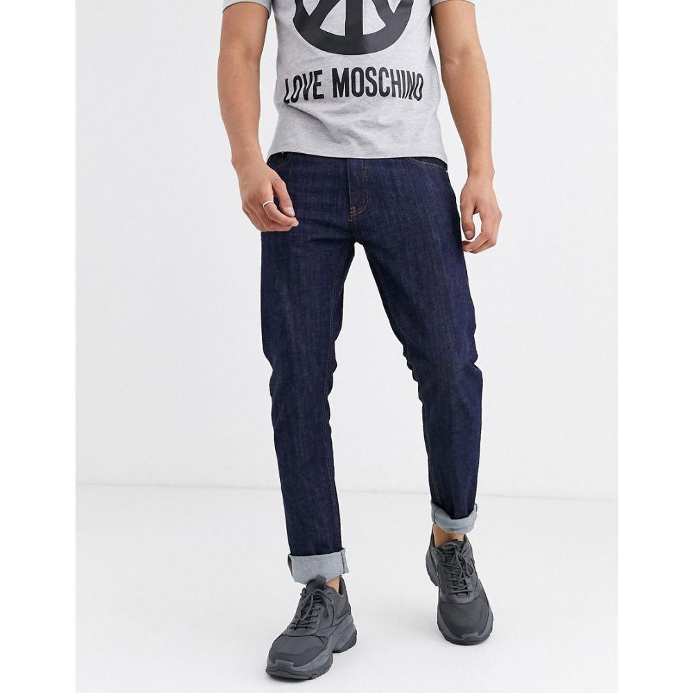 モスキーノ Love Moschino メンズ ジーンズ・デニム ボトムス・パンツ【cropped slim jeans】Blue