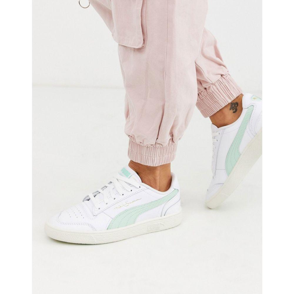 プーマ Puma レディース スニーカー シューズ・靴【Ralph Sampson trainers in white and mint】White