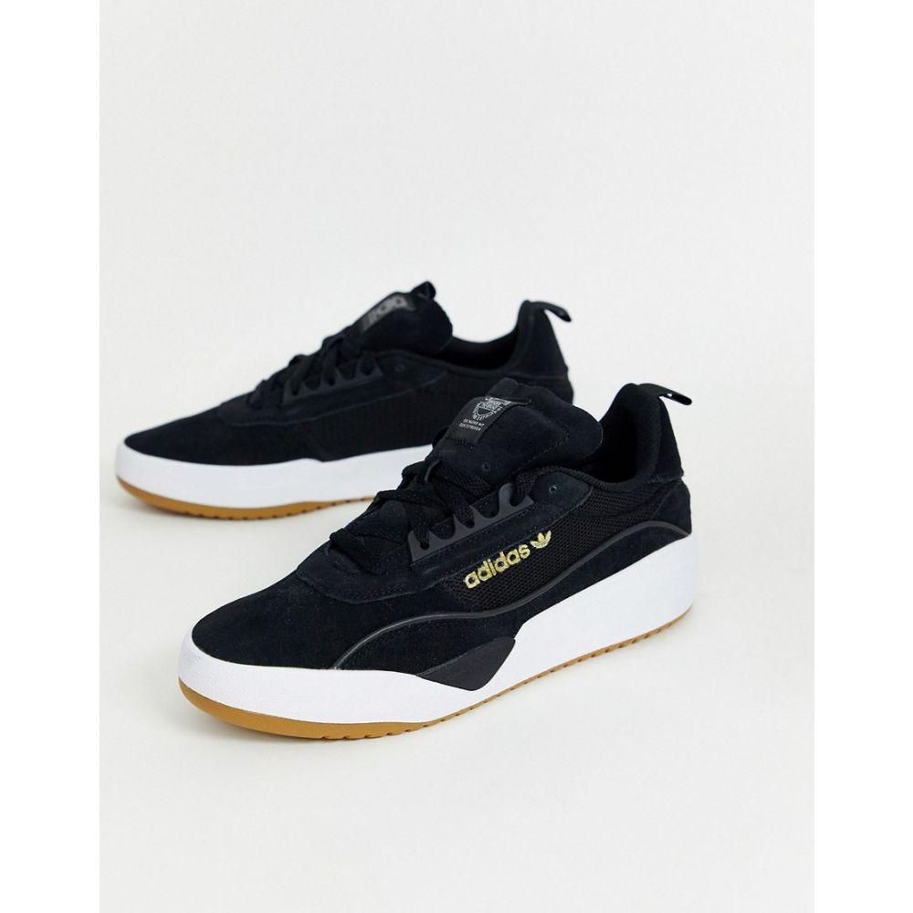 アディダス adidas Skateboarding メンズ スニーカー シューズ・靴【liberty cup trainers in black】Black