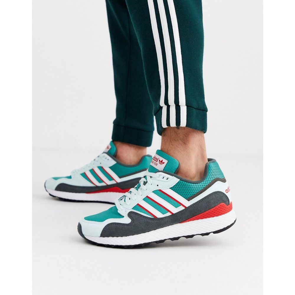 アディダス adidas Originals メンズ スニーカー シューズ・靴【adidas ultra tech trainer】Green/white