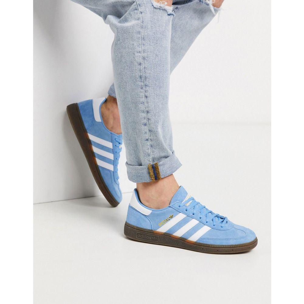 アディダス adidas Originals メンズ スニーカー シューズ・靴【Handball Spezial trainers in blue suede】Bl - blue