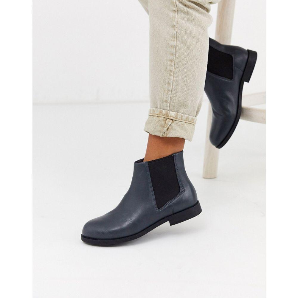 カンペール Camper レディース ブーツ ショートブーツ チェルシーブーツ シューズ・靴【Bowie chelsea ankle boots in dark grey】Dark grey