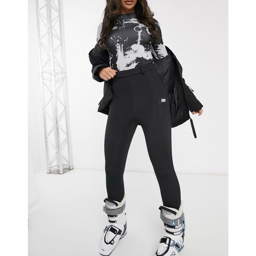 エイソス ASOS 4505 レディース スキー・スノーボード スキニー・スリム ボトムス・パンツ【ski super skinny trouser with stirrup】Black