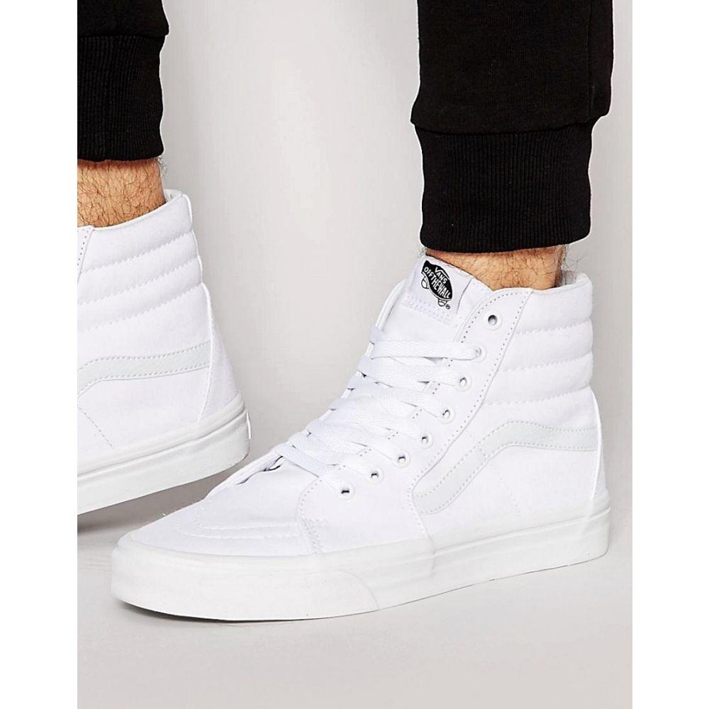 ヴァンズ Vans メンズ スニーカー シューズ・靴【Sk8-Hi trainers in white vd5iw00】White