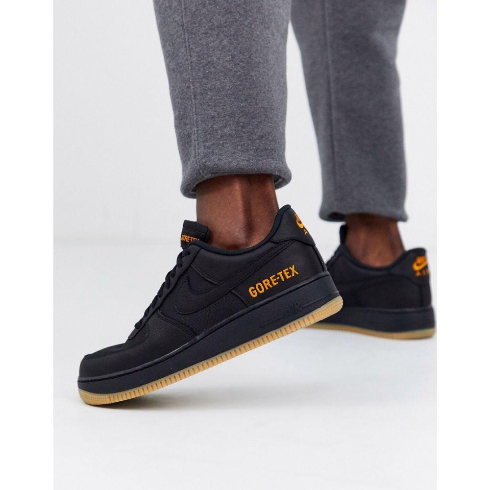 ナイキ Nike メンズ スニーカー エアフォースワン シューズ・靴【Air Force 1 '07 Gore-Tex trainers in black CK2630-001】Black