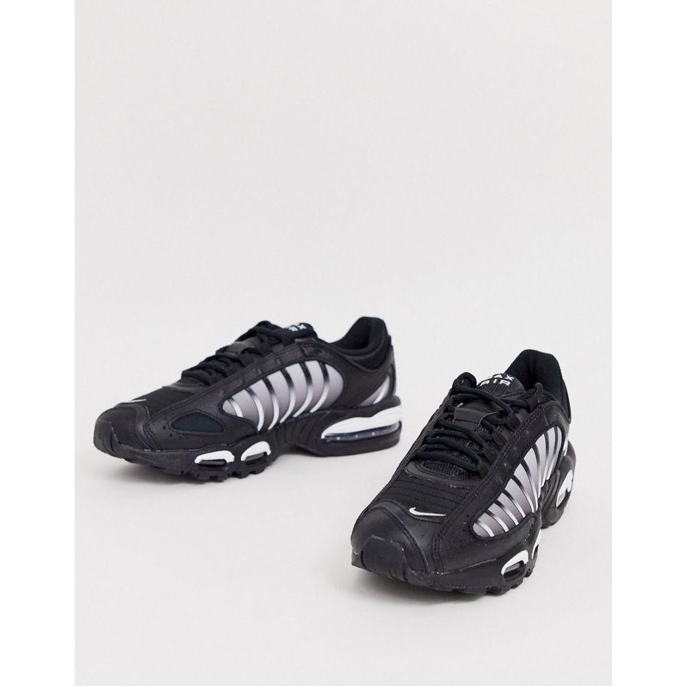 ナイキ Nike メンズ スニーカー シューズ・靴【Air Max Tailwind IV trainers in black AQ2567-004】Black