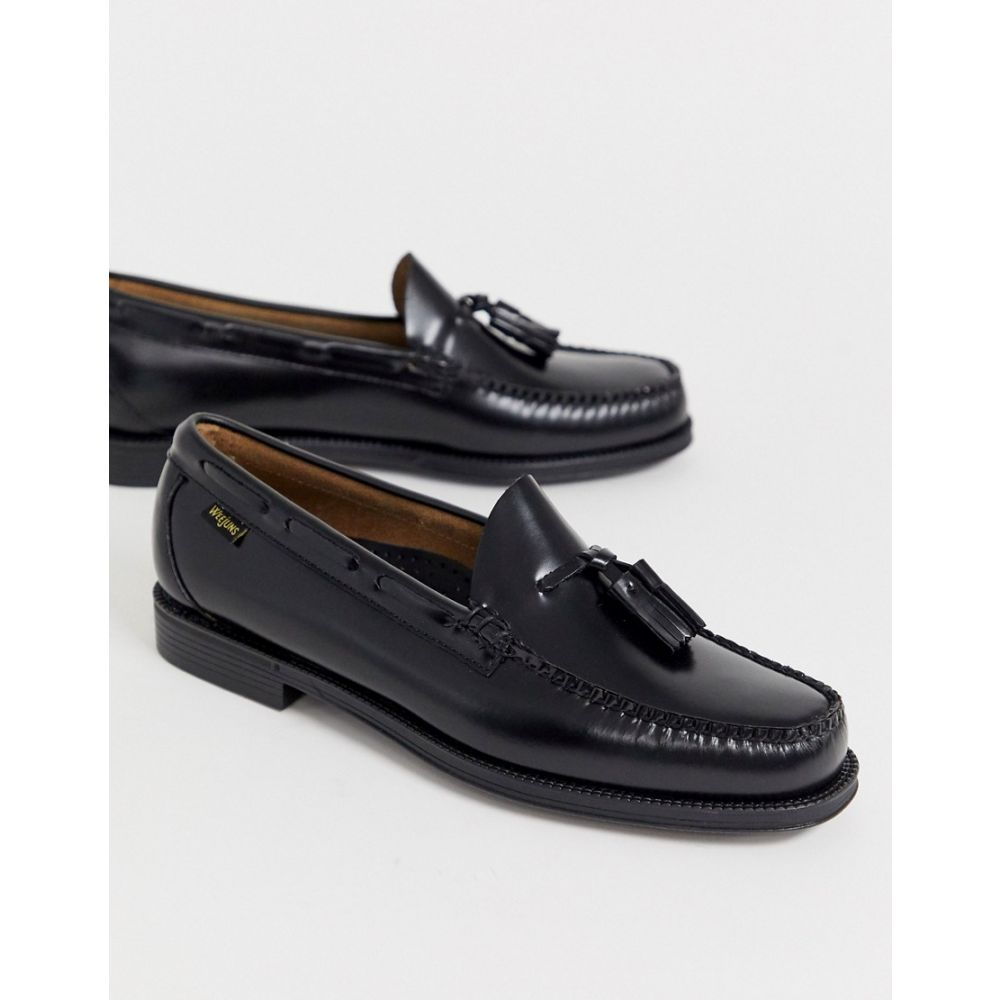 ジーエイチ バス G.H. Bass メンズ ローファー シューズ・靴【Easy Weejuns Larkin tassel leather loafers in black】Black