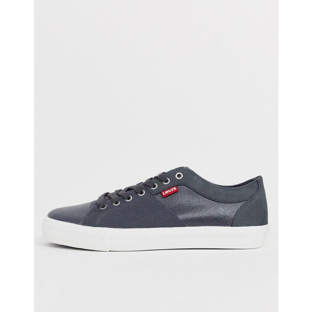 リーバイス Levi's メンズ スニーカー シューズ・靴【Woodward sneaker in grey】Regular grey
