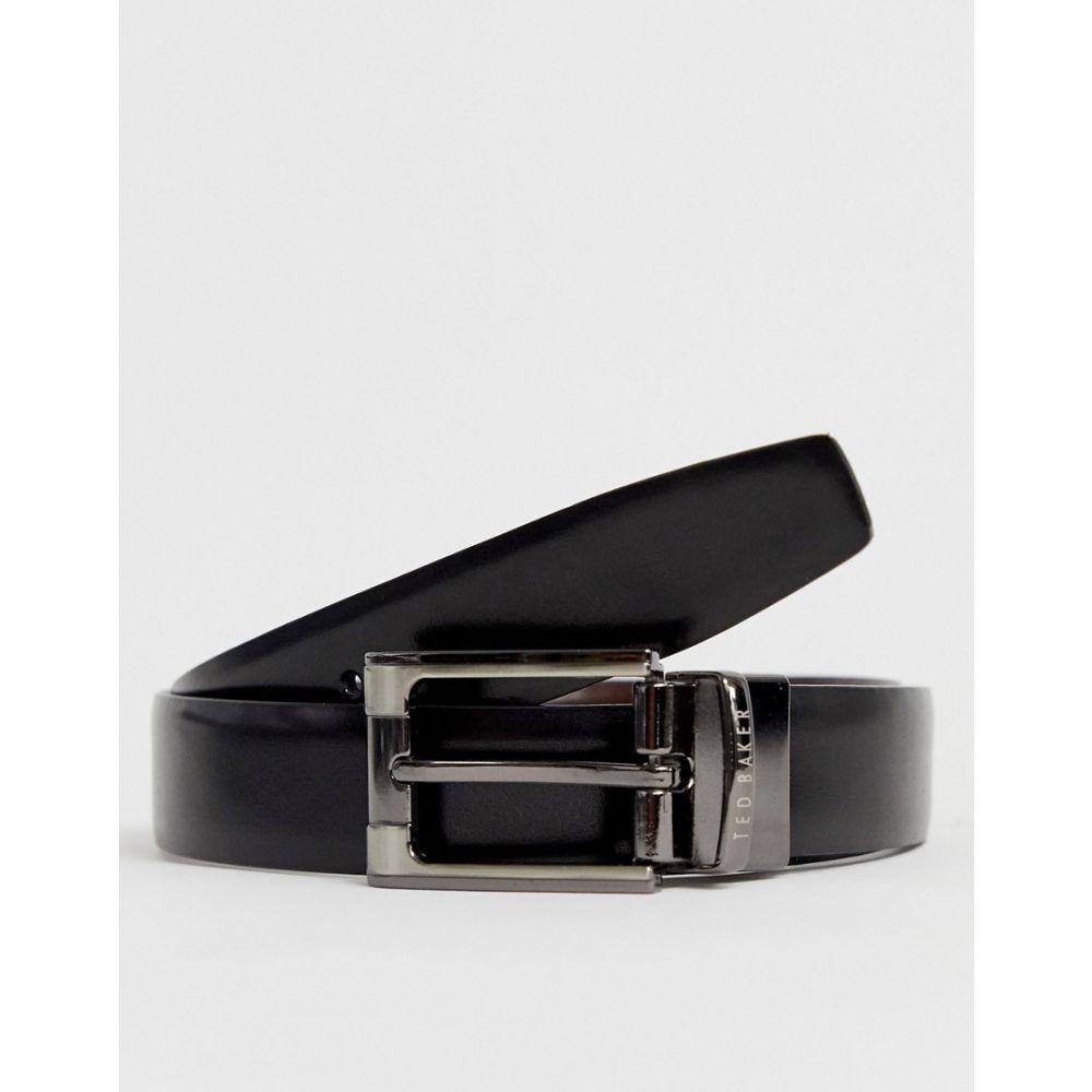 テッドベーカー Ted Baker メンズ ベルト 【Crafti leather reversible belt】Black